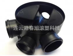 Plastic inspection wells