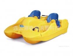 Rotomolding pedal boat