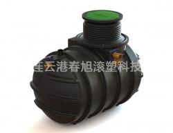 Rotomolding sewage treatment tank