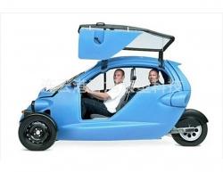 Rotomolding car shell