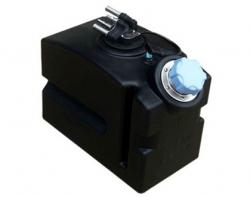 Rotational urea tank