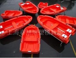 Rotomolding fishing boat